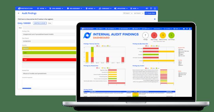 internal audit mockup