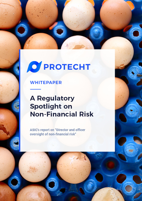 ASIC Report Whitepaper: A Regulatory Spotlight on Non-Financial Risk