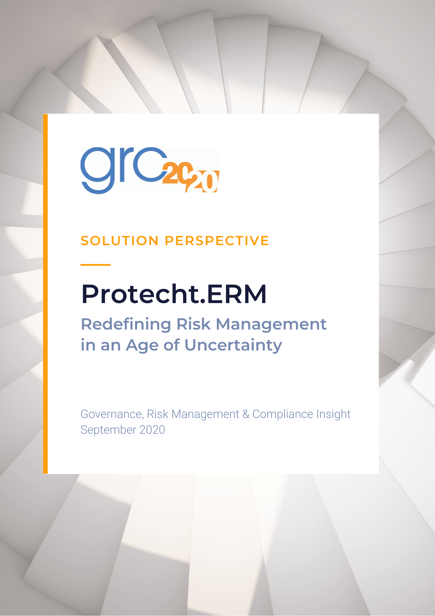 GRC 2020 Solution Perspective whitepaper cover