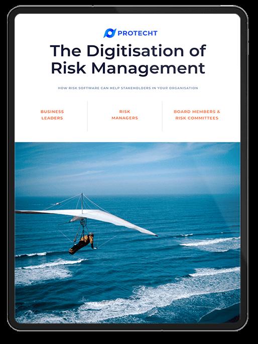 The Digitisation of Risk Management eBook cover