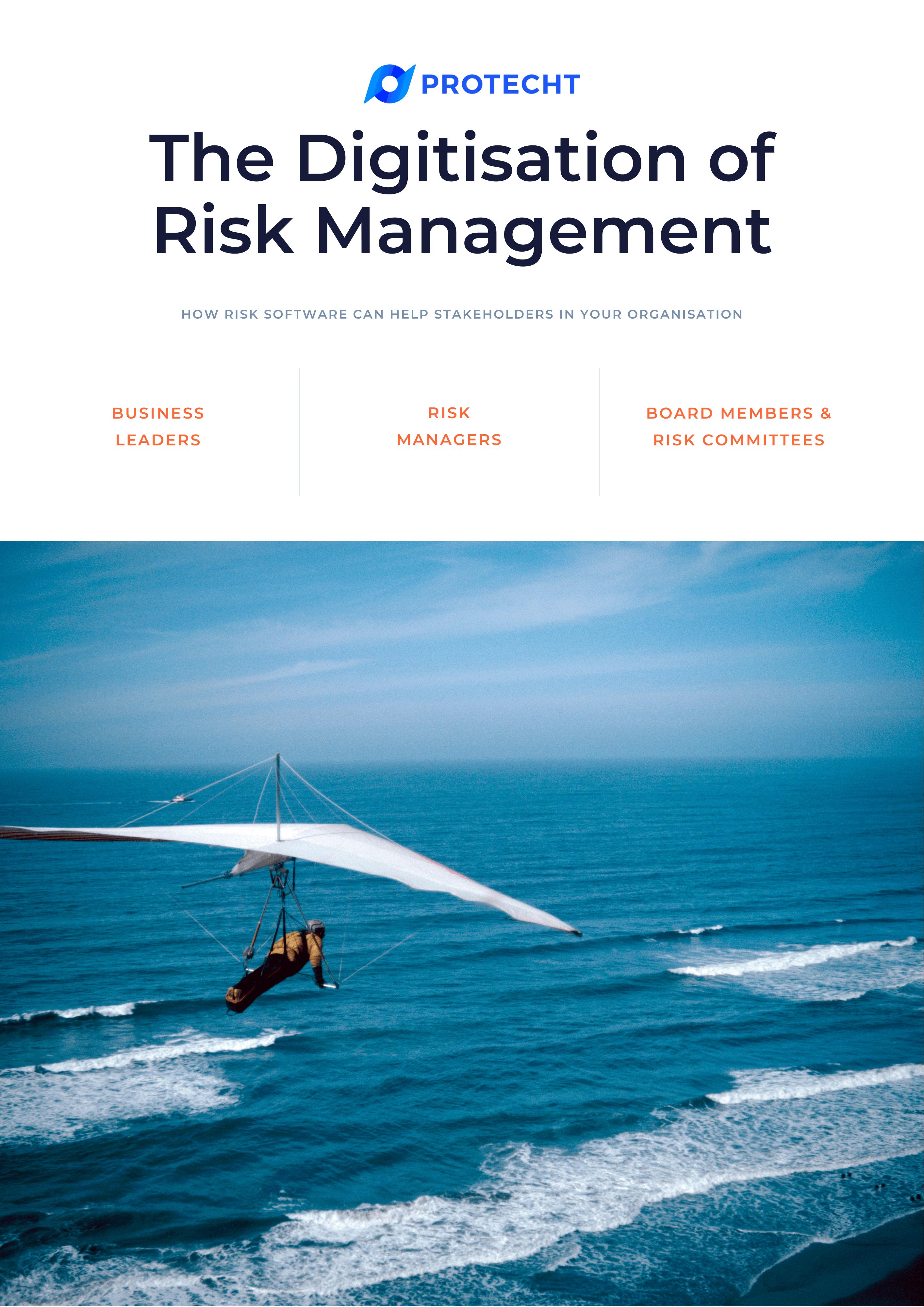 The Digitisation of Risk Management cover