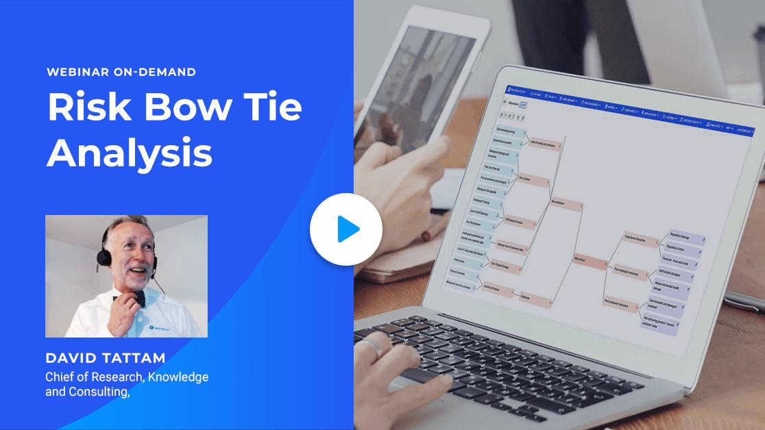 Watch the Risk Bow Tie Analysis webinar on-demand